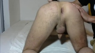 Someone shaving my ass and finishing with finguers up in it