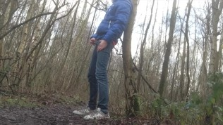 when I'm in the woods