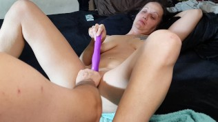 MY FIRST FISTING! HARDCORE PUSSY STRETCHING! SQUIRTING! PAIN & PLEASURE! DP