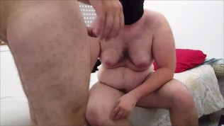 BearLikeBoy and his chubby slave's hoods during 69 and double cumshot