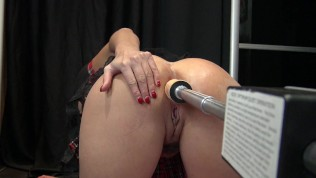 anal squirting machine - Anal Squirt Fuck Machine in Sweet Little French Asshole by Vic Alouqua
