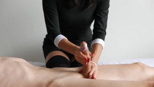 Ruined Orgasm First Experience, Skilled Handjob