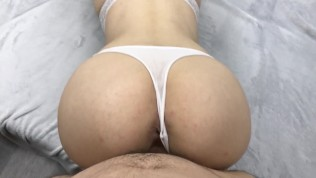 Fucking My 18 Year Old Stepsister While She Playing Minecraft – Cum Inside!