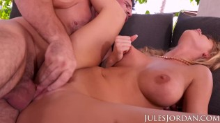 Jules Jordan - Jessa Rhodes' First Anal! Her Virgin Ass Gets Penetrated
