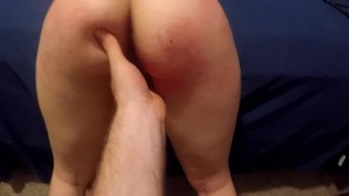 CUFFED, SPANKED, AND FUCKED (POV)