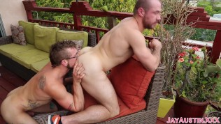 Jay Austin Breeds Stephen Ashland Raw in Public
