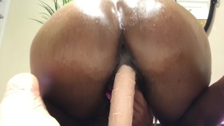 Riding your dick…