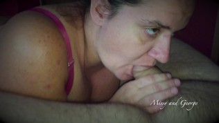 Throwback Thursday Married Couple Blowjob - Facial