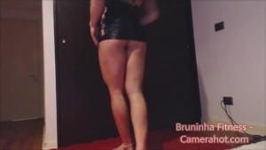 Sexy Lap Dance and Strip dance - Hot Brazilian fitness model solo