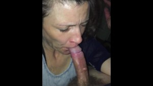 He makes me suck his cock...