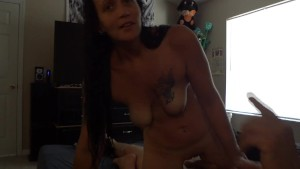 My bitch rides my cock