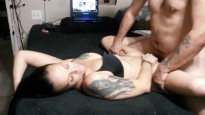 Quickie sex, cum in armpit, cum swap