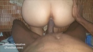 Tight Asian Pussy Getting Fucked & Creampied By That BBC