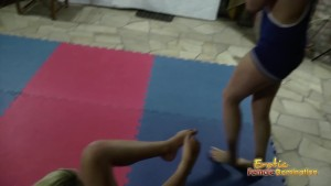 Lesbian Girls Have A Wrestling Competition