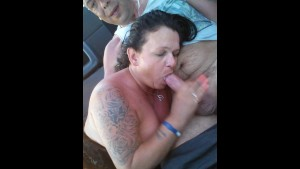 Horny British Gilf Loves Sucking Cock