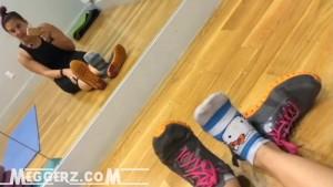 Hello Kitty Gym Socks