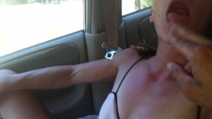 locking my own pussy juice after squirting on hubbies hand