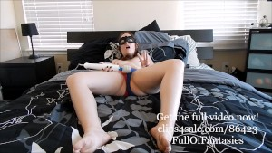 10 Orgasms in Harley Quinn Suicide Squad Panties (teaser)