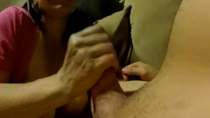 Spontaneous Couch Blowjob. Breakout the Go Pro s!