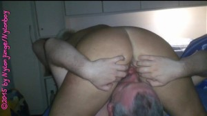 Licking horny cunt ** Hot MILF **