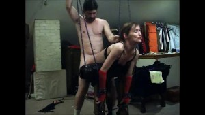 Fucked Over the Spanking Bench