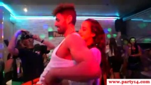 cock party, girls sucking cocks in live party