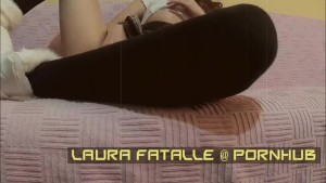 LauraFatalle makes private video for one of her subscribers-stolen sex tape