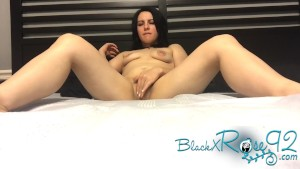 Quickie Fingering MILF Masturbation BlackxRose92