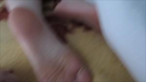 Tickling Girlfriends Feet While She Is Asleep