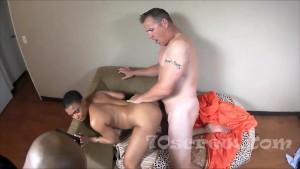 Ebony Layla Perez gets Big White Cock Tommy Utah