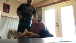 JJ gets spanked and fucked Part 3