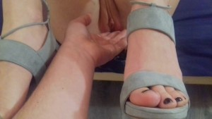 Unbelievable Huge Squirting Orgasm Against The Background Of The Feet