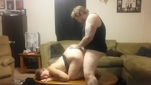 Big Tit Brunette Cums Home to a Mess & a Horny Husband