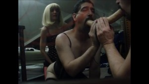 Stunning Dominatrix Makes me Watch Pegging