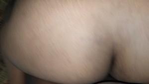 Thick Indian interracial backshots