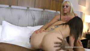 ROME Sara Jay and Alexis Golden attack BBC together