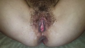 My cock suckers beautiful bush