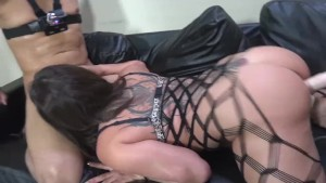 THE BANGING OF TWO HOT BRUNETTES Tory Lane, Angel Del Rey