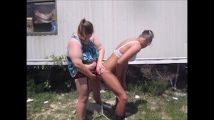 Sissy Ass Fucked Outdoors Then Sucked Off Giving Girl Facial Of Cum