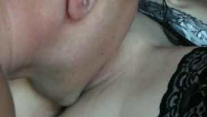 Step brother licking my pussy/ Hermanastro chupando mi chcochito
