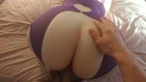 Fucking My Wife s Phat Ass Until I Cum All Over It