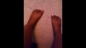 My feet, feet fetish