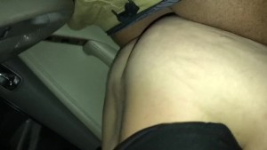 Thot Riding Big Black Dick In Car
