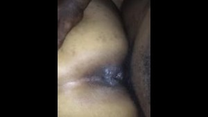 Cee Pineapples Wet Pussy takes backshots and she takes cum shot!