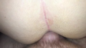 """Let me fuck your ass...I'll give you every last inch"" hubby promises wife"