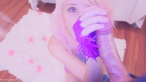 Cherry Crush Kitty - COSPLAY, MASTURBATION, BJ CUMSHOT AND ANAL