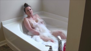Enjoying A Nice Hot Bubblebath