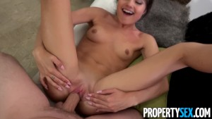 PropertySex - Very attractive real estate agent fucks her ex