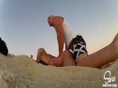 Public Beach Sex! Johnny...
