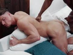 BBC Daddy Cheats On Boyfriend With Hung Friend - NoirMale